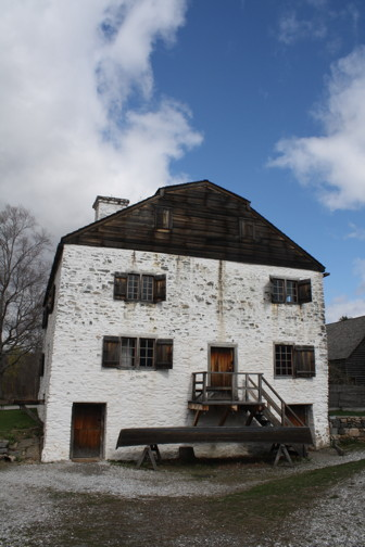 Philipsburg Manor, photograph by Ana Lucia Araujo, 2015.